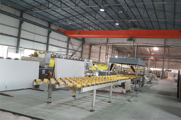 Quartz Slab polishing lines