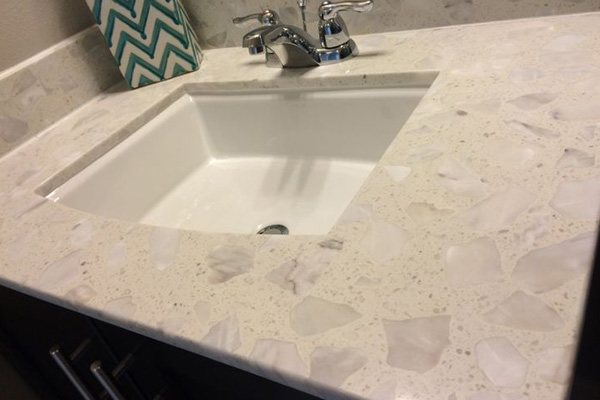 composite marble top