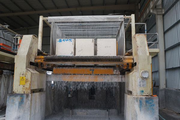 marble slab cutting machine