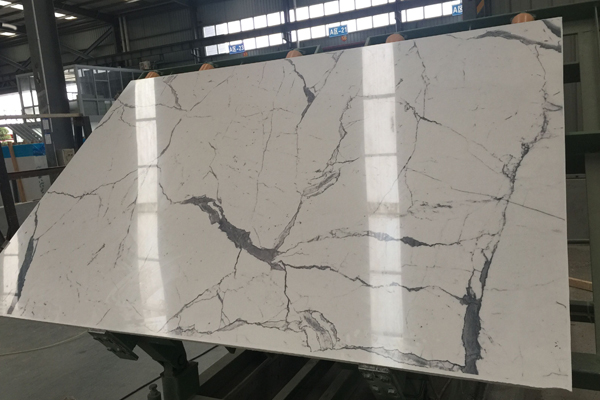3D painting engineered marble stone