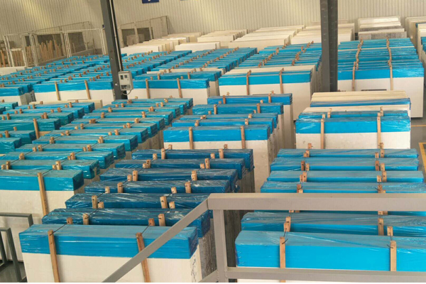 Huge factory for artificial marble