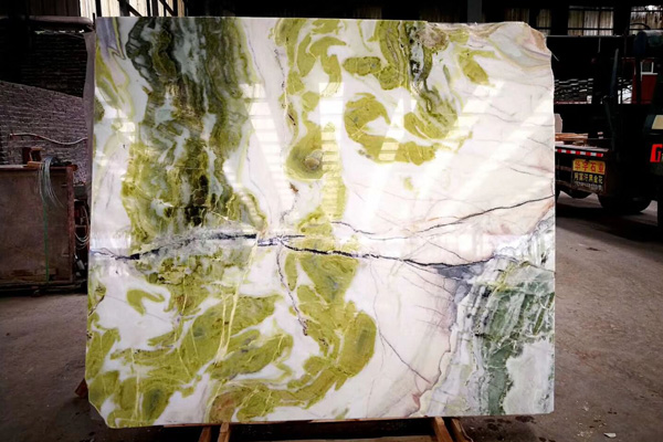 green and white onyx price