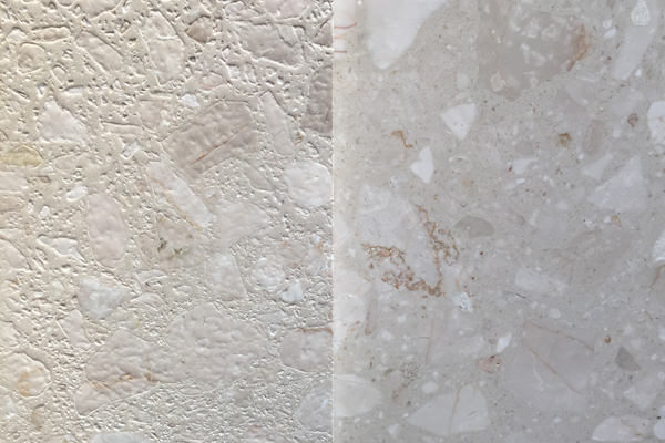 acid surface marble tiles