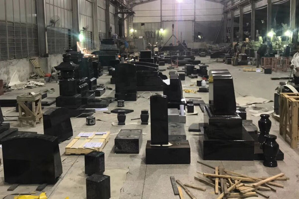 tombstone fabrication workshop