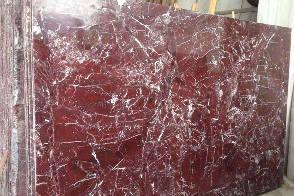 China red marble plate for decoration