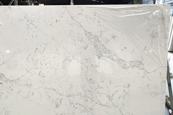 marble vein quartz slab price