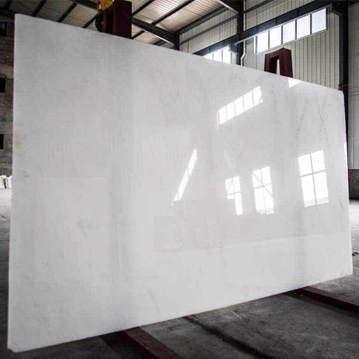 Crystal white marble