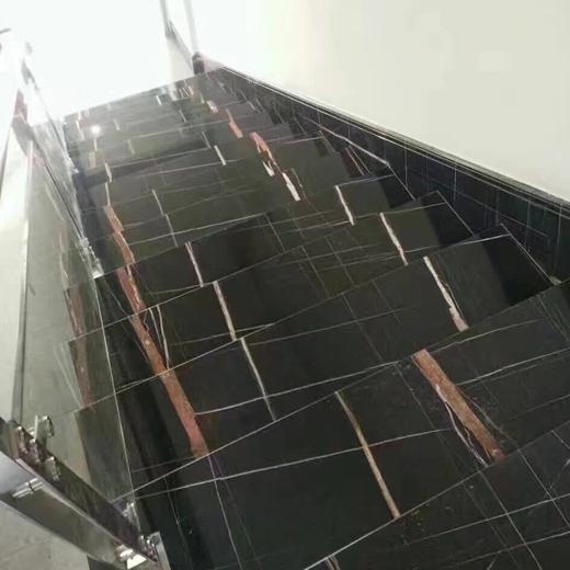 Buy Sahara Noir Black Natural Marble For House
